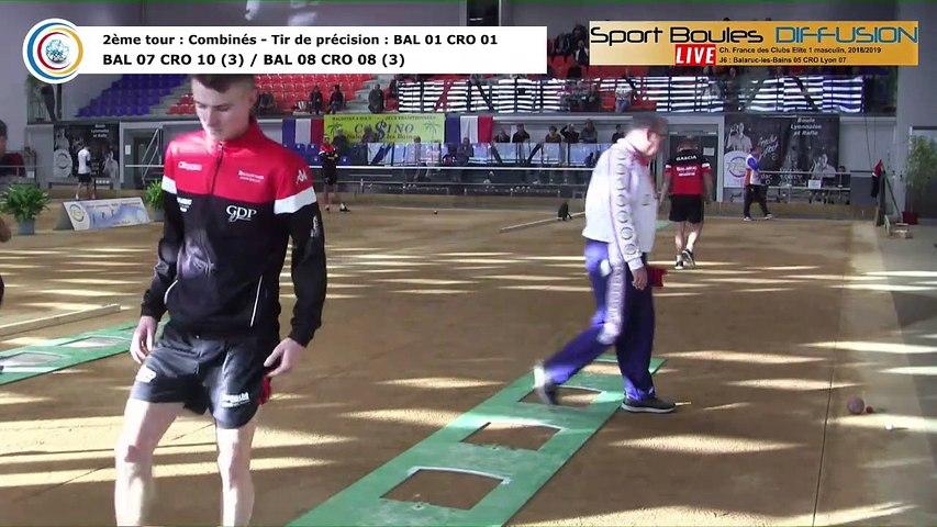 Second tour, premier tir de précision, France Club Elite 1, J6, Balaruc-les-Bains contre CRO Lyon,  saison 2018/2019