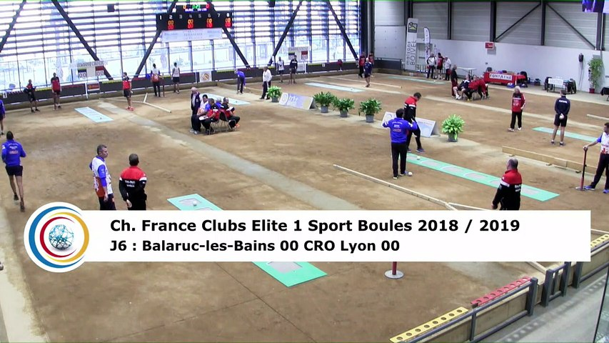 Premier tour, tir progressif, France Club Elite 1, J6, Balaruc-les-Bains contre CRO Lyon,  saison 2018/2019