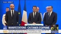 """Gilets aunes: Christophe Castaner assure que """"la situation est maîtrisée"""""""