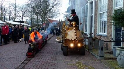 Gezellige drukte op Kerstmarkt / Heenvliet 2018