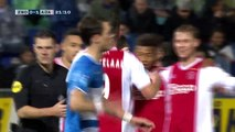 Ajax win 4-1 at PEC Zwolle in the Dutch Eredivisie
