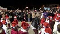 Το '' Άναμα του Χριστουγεννιάτικου Δέντρου '' στο Δημοτικό Σχολείο Αρναίας.  00440