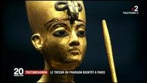 """L'exposition """"Toutankhamon - Le Trésor du Pharaon"""""""