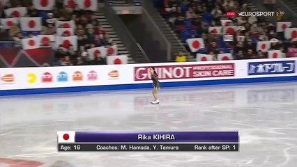 B.ESP(HD). 紀平梨花 (Rika KIHIRA) 快挙のフリー - 2018 GPF
