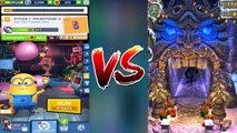 Temple Run 2 Christmas 2018 Vs Despicable Me: Minion Rush Hacked Holidays