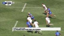 La France battue par les Samoa