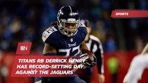 Titans RB Derrick Henry Blows Out Jaguars