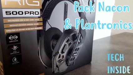 Nacon Pro Controller 2 &  Plantronics Rig 500 Pro - Tech Inside