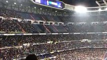 Así vibró el Bernabéu cuando se anunciaron las alineaciones de River y Boca