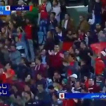 اهداف مباراة الاهلي وطلائع الجيش 2-0 - ثنائية مروان محسن