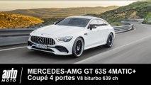 Mercedes-AMG GT  63S 4MATIC+ Coupé 4 portes 639 ch Essai Auto-Moto.com