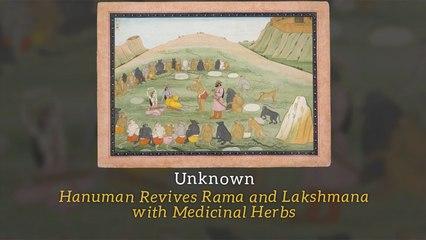 Unknown - Hanuman Revives Rama and Lakshmana with Medicinal Herbs