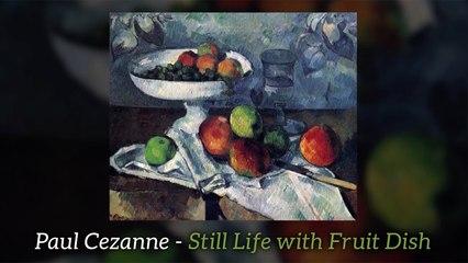 Paul Cezanne - Still Life with Fruit Dish