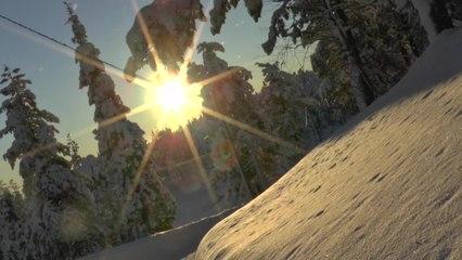 Die finnischen Nationalparks im Winter