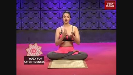 Watch: Yoga asanas to improve your concentration level