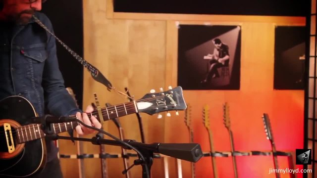 Billy Harvey performs Party House on The Jimmy Lloyd Songwriter Showcase