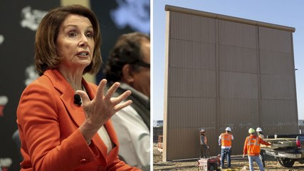 Pelosi Blasts Border Wall as 'Manhood Issue' for Trump