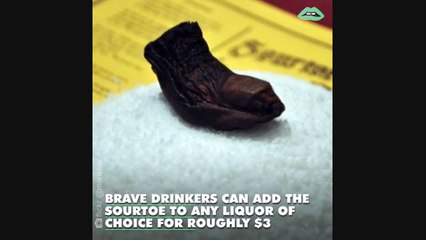 """The world's most disgusting drink includes a severed human toe floating in the glass. The only rule is """"You can drink it"""