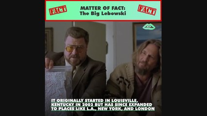 The Big Lebowski has spawned a festival and a religion — Dudeism.