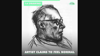 A U.S. government sanctioned experiment in the '50s asked an artist to take LSD and draw a portrait 9 times and 'ish got