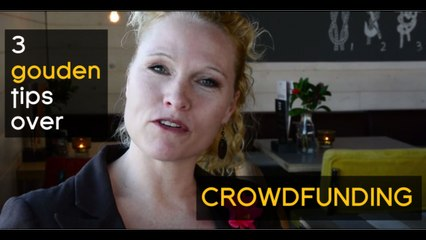 3 gouden tips over crowdfunding - Word Up!