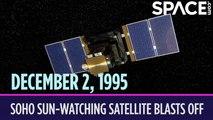 OTD in Space - Dec. 2: NASA Launches SOHO Sun-Watching Satellite