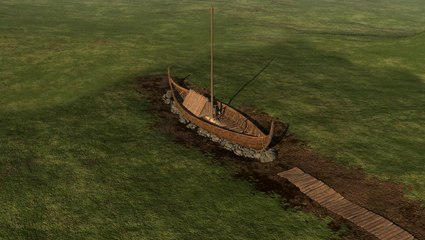 Viking Ship and Cemetery Discovered