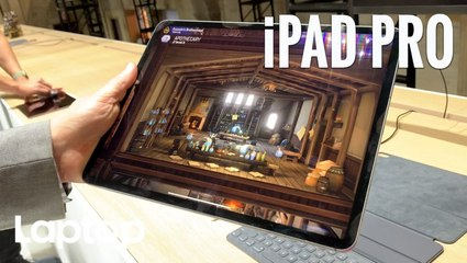 iPad Pro Hands-on: All Screen, Serious Power