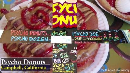 Top 5 Craziest Donut Flavors