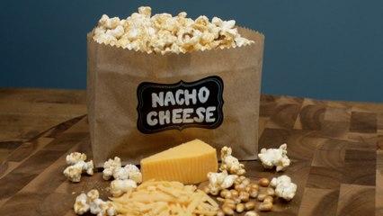 Nacho Cheese Popcorn