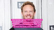 Ian Ziering protests 2nd grade bully at daughter's school