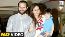 Taimur Ali Khan's Pre-Birthday Celebration | Kareena Kapoor Khan | Saif Ali Khan