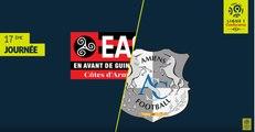 Résumé - EA Guingamp - Amiens SC ( 1-2 )