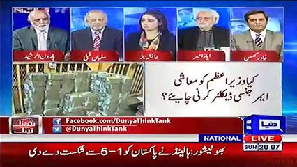 PTI don't want to collect taxes from the powerful elites - Haroon ur Rasheed