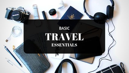 Basic Travel Essentials