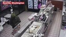 Baskin-Robbins Employee Fends Off Serial Armed Robber