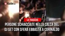 Il nuovo video dei ragazzi schiacciati in discoteca al Lanterna Azzurra | Notizie.it