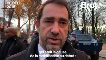 Christophe Castaner a répondu à Brut