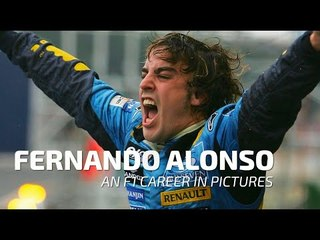 Fernando Alonso - An F1 Career In Pictures