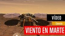 NASA: Así suena el viento en Marte, grabado por InSight