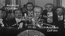 Alfredo Stroessner honors President Jorge Videla 1977