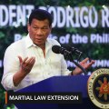 Duterte asks Congress for another 1-year martial law extension in Mindanao