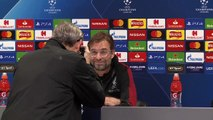 Liverpool talk ahead of Napoli UEFA Champions League meeting