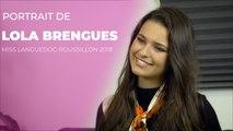 Portrait de Miss Languedoc-Roussillon 2018