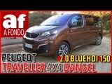 Peugeot Traveller 4x4 Dangel | Review al detalle y prueba