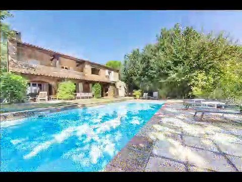 Golfe de st tropez - Vente 2 villas provençales à Grimaud - Vue mer - 12 chambres 500 m²