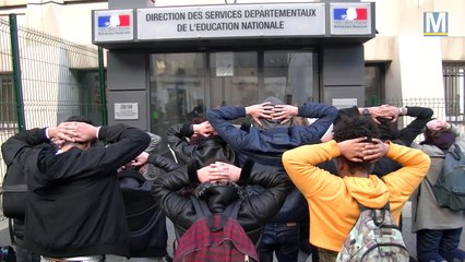 Les lycéens marseillais reçus à l'inspection académique