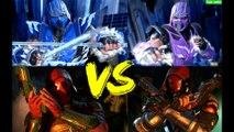 Injustice 2 Legendary Edition - Sub Zero vs Sub Zero, Capus Vermelho vs Capus Vermelho