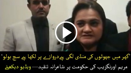 Maryam Aurangzeb criticises govt in poetry