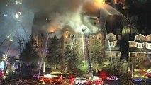 Philadelphie : impressionnant incendie dans un immeuble